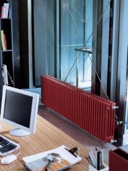 kolom radiatoren, designradiatoren, hoog rendement radiatoren, gekleurde radiatoren