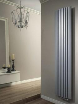 vertikalūs radiatoriai, kambario radiatoriai, sieniniai radiatoriai, pilki radiatoriai