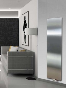 stainless steel radiators, vertical radiators, flat radiators, exclusive radiators, panel radiators
