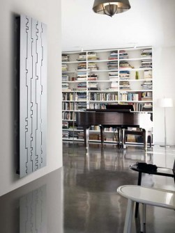 modern radiators, aluminium radiators, designer radiators
