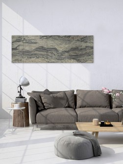 smooth horizontal radiators, stylish stone radiators,