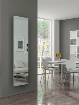 mirror radiators, mirror fronted radiators, radiator with mirror