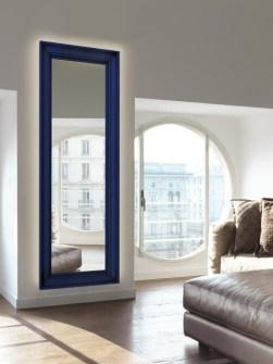 dekorativní otopná tělesa, vertikální radiátor, zrcadlo, vyhřívané zrcadlo
