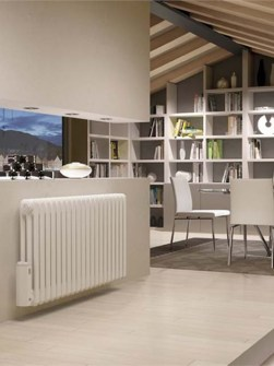 electric radiators, column radiators, white radiators, traditional column radiators