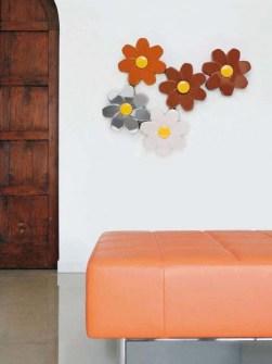 ongebruikelijk radiatoren, bloem radiator, luxe radiatoren