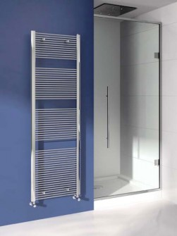 chrome towel heater, chrome radiator, bathroom heater, chrome heated towel rails