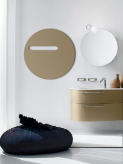 elektrický kúpeľňový radiátor, sklopný radiátor, okrúhly radiátor, moderné radiátory