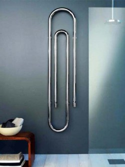 chrome radiator, exclusive radiator, bathroom radiator