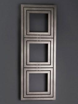 radiador moderno, desenhista banheiro radiador, forma quadrada radiador