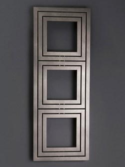modern radiator, designer bathroom radiator, square shape radiator