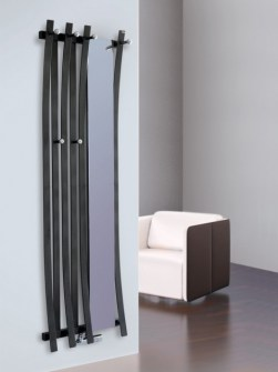 mirror radiators, coat rack radiators, cloak room radiators, hallway radiator