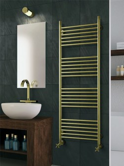 electric stainless steel radiator, hybrid bathroom radiator, inox radiators, gold radiators