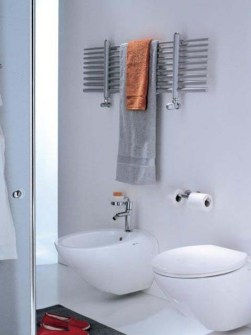 horizontal bathroom radiators, chrome bathroom radiators, chrome radiators, chrome towel warmers