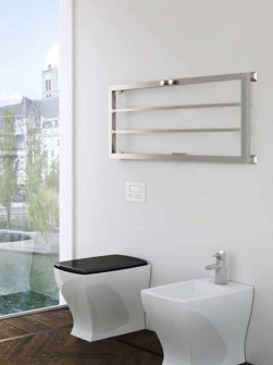 decorative radiator, bathroom radiator, design radiator, towel radiator, silver radiators