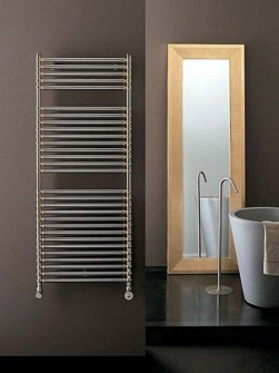 chrómové radiátory, kúpeľňový radiátor chróm, dekoratívny radiátor uterákov