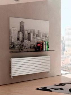 design radiators, popular radiators, tubular radiators, horizontal radiators