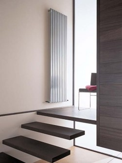 trendy radiators, modern radiators, coloured radiators, tall radiators