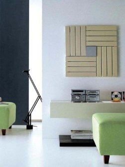 kleine radiatoren, moderne radiatoren, beige radiator, exclusieve radiatoren