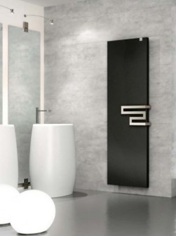 panel radiator, bathroom panel radiators, black radiators, electric panel radiators