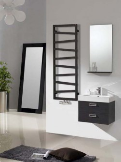 modern radiators, bathroom radiators, towel radiators, black radiator