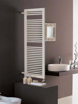 room divider radiators, heated towel rails, coloured towel radiators,