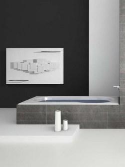 radiátory-sochařský koupel, koupelna
