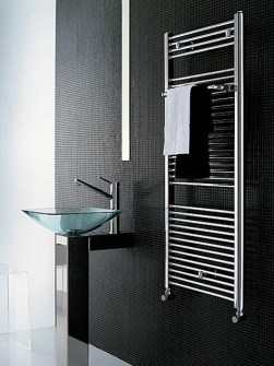 small radiators, small bathroom radiators, small heaters, chrome radiator