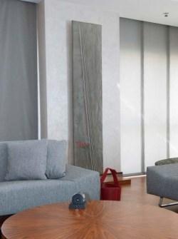 šedé radiátory, izbové radiátory, kamenný radiátor, luxusné radiátory