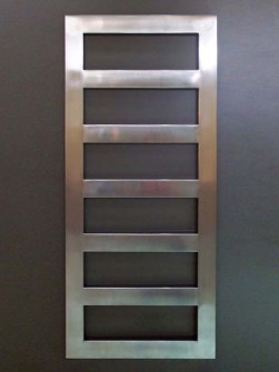 chrome bathroom radiators, inox radiator, stainless steel bathroom radiator