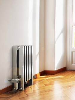 stainless steel radiator, inox radiators, silver radiators, column radiators