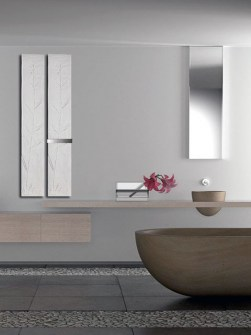 stone towel radiators,  stylish bathroom radiators,