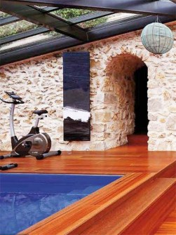 håndlavede radiator, sten radiator, design værelse radiator