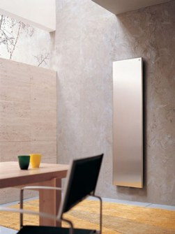 stainless steel radiators, panel radiators, vertical panel radiators, luxury radiators