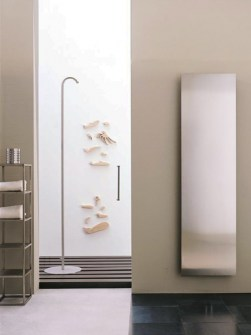 stainless steel radiator, bathroom radiator, design radiator, electric radiator