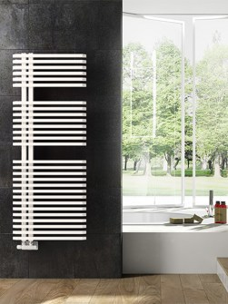 modern bathroom radiators, asymmetric radiators, minimal radiator