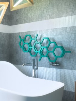 moderné radiátory, kúpeľňové radiátory, horizontálne radiátory na osušky, krásny radiátor