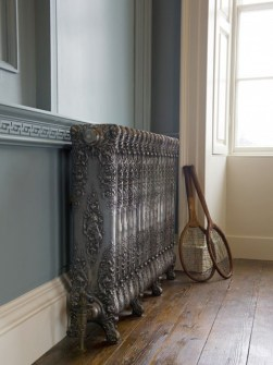 classic radiators, cast iron radiator, bronze colored radiators, coloured radiators