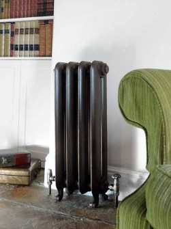radiadores tradicionais, radiador clássico de ferro fundido,